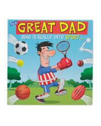 Sporty Dad Card