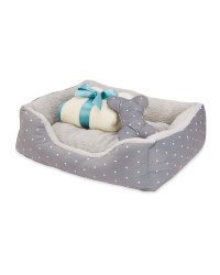 Spotted Luxury Pet Bed Bundle
