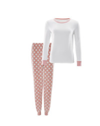 Avenue Spot Ladies Fleece Pyjamas