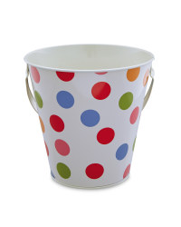 Spot Print Egg Hunt Tin