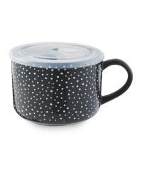 Kirkton House Spot Mug with Lid
