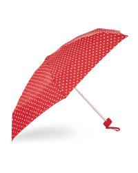 Spots Flat Print Umbrella