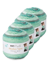 Spring Mint Ombre Yarn 4 Pack