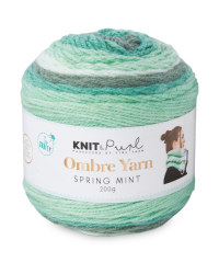 Spring Mint Ombre Yarn