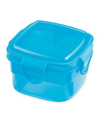 Square Snack Container - Blue