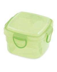 Square Snack Container - Green