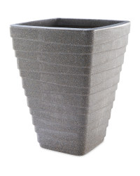 Gardenline Square Tall Planter - Charcoal