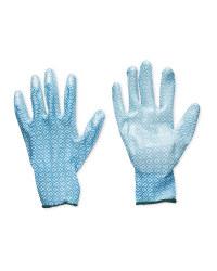 Squares Gardening Gloves 2 Pack