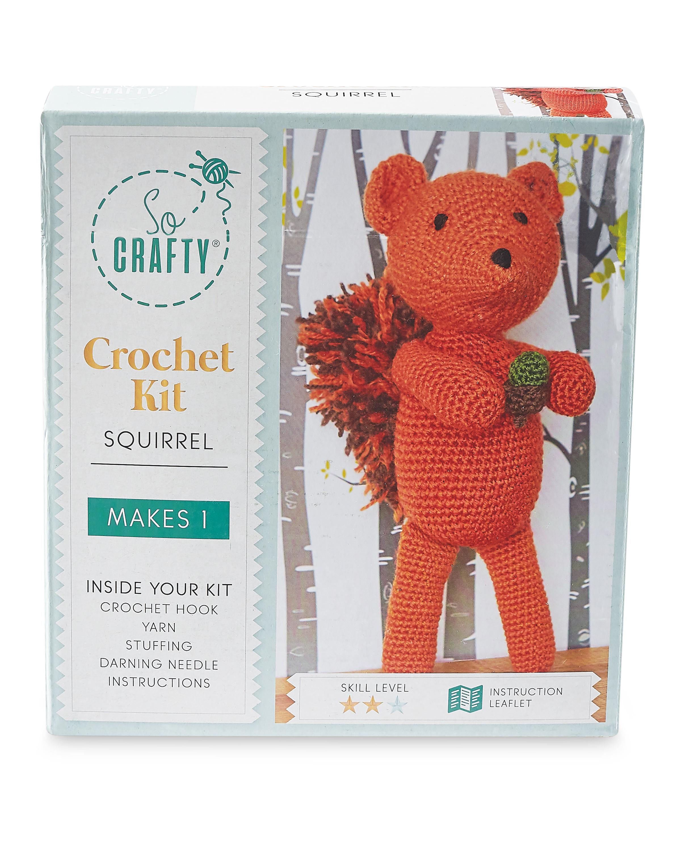 Squirrel Crochet Kit