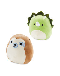 Dinosaur & Sloth Squishmallow Set