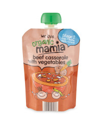 Mamia Stage 2 Beef & Veg Pouch