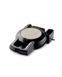 Stainless Steel Waffle Maker - Cream