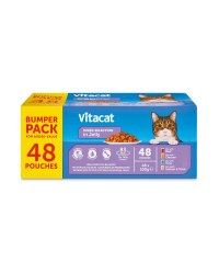 Vitacat Cat Pouches Mixed