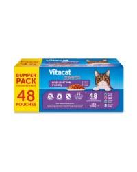 Vitacat Cat Pouches Senior