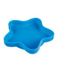 Nuby Silicone Star Bowl - Blue
