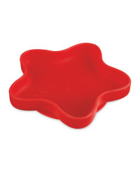 Nuby Silicone Star Bowl - Red
