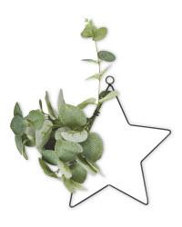 Star Eucalyptus Faux Wreath