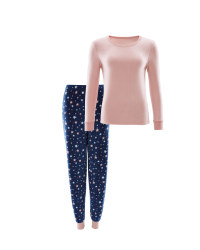 Avenue Star Ladies Fleece Pyjamas