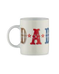 Star-Print Mug