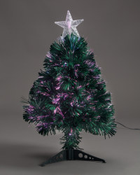 Starburst Green Fibre Optic Tree