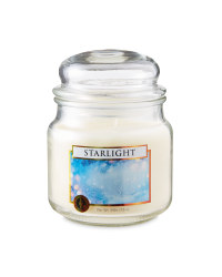 Starlight Glass Jar Candle
