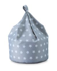 Stars & Grey Playroom Bean Bag