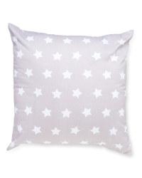 Stars & Grey Playroom Cushion