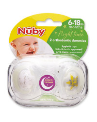 Stars Soothers 6-18 Months