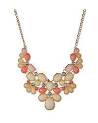 Statement Jewelled Pastel Necklace