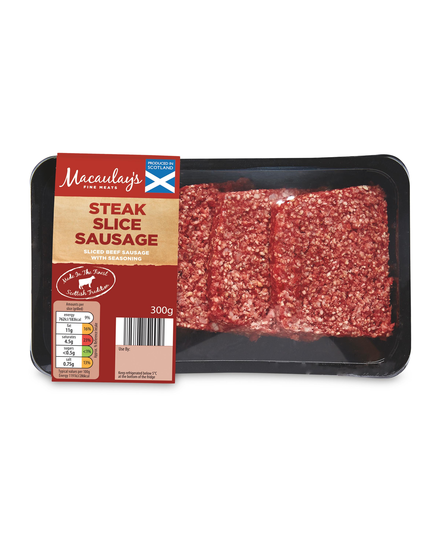 Steak Slice Sausage