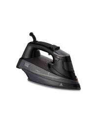 Easy Home Steam Iron - Black/Grey