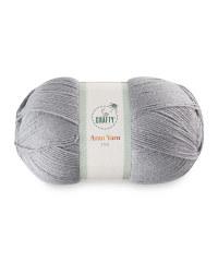 So Crafty Steel Aran Yarn