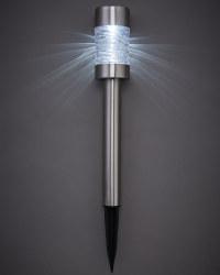 Steel Solar Bollard Stake Light