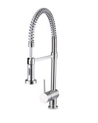 Steel Spiral Kitchen Mixer Tap