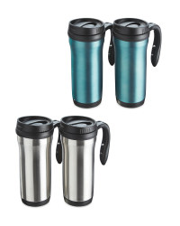 Steel Travel Mug 2-Pack