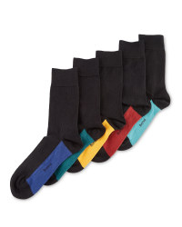 Men's Block Cotton Rich Socks