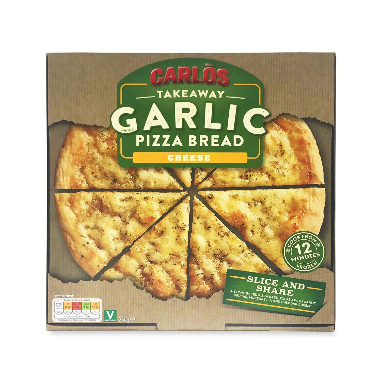 Garlic & Cheese Pizza Bread Cheese