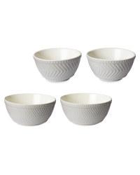 Stoneware Mixing Bowls 2 Pack