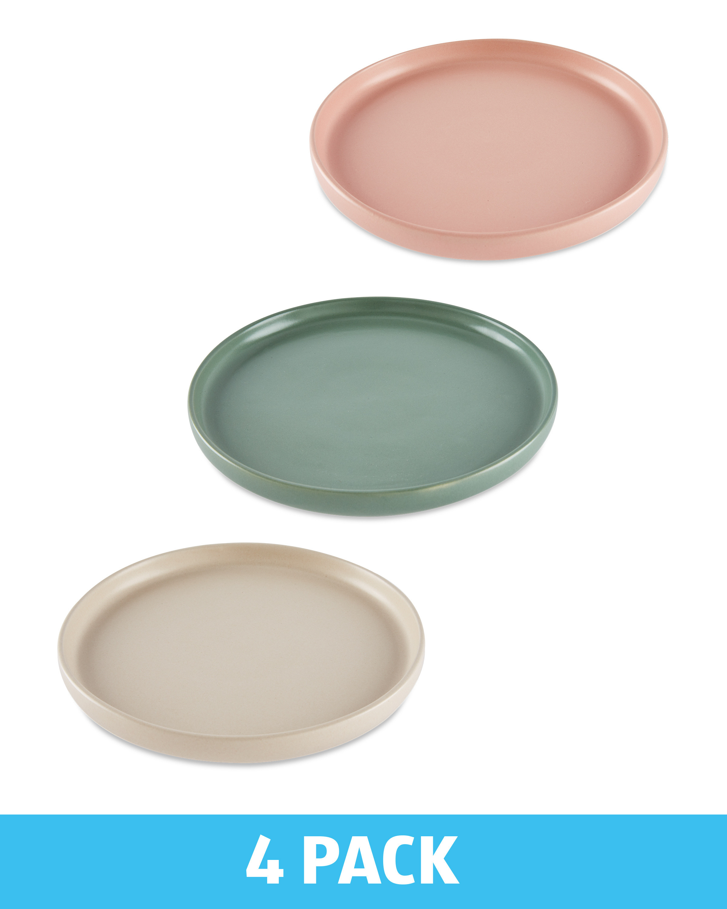 Stoneware Side Plates 4 Pack