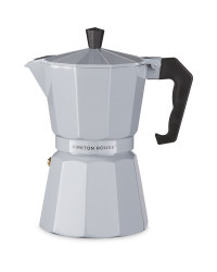 Stove Top Espresso Maker - Grey