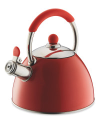 Kirkton House Stove Top Kettle - Red