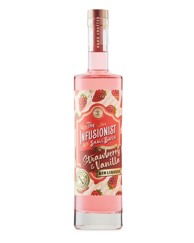 Strawberry & Vanilla Gin Liqueur