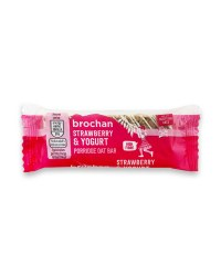 Strawberry & Yogurt Porridge Oat Bar