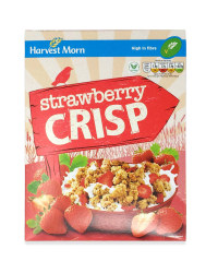 Strawberry Crisp Cereal