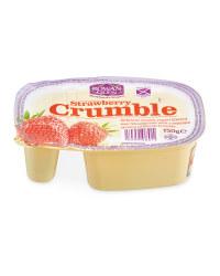 Strawberry Crumble Yogurt