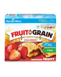 Strawberry Fruit & Grain Bars