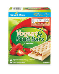 Strawberry Yogurt & Fruit Bars