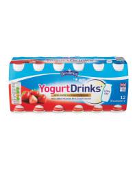 Strawberry Yogurt Drinks
