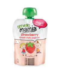 Mamia Strawberry Greek Style Yoghurt