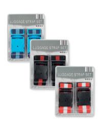 Striped Luggage Strap